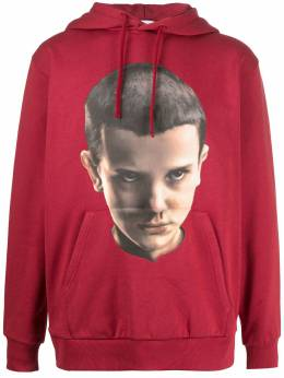 Ih Nom Uh Nit Eleven print hoodie NUS20252