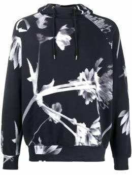 Paul Smith floral drawstring hoodie M1R681TAP1876