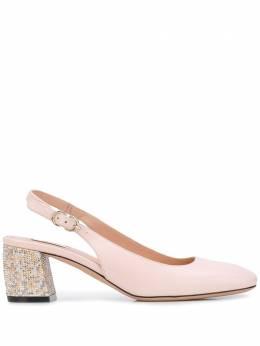 Bally туфли Celie с заклепками на каблуке 6231207