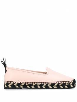Bally patterned pull tab espadrilles 6230969