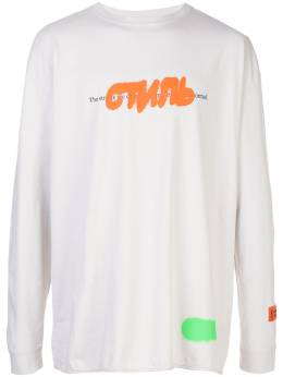 Heron Preston футболка с принтом 'Стиль' HMAB005S209130270588