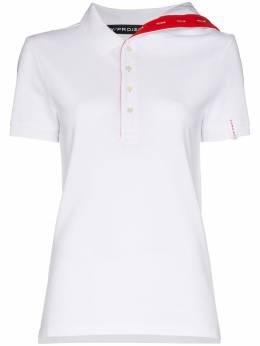 Y / Project рубашка асимметричного кроя с короткими рукавами WPO7S18J10
