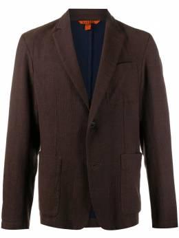 Barena однобортный пиджак с накладными карманами GIU26063108