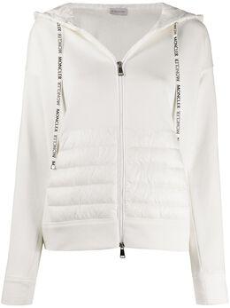 Moncler куртка на молнии с дутыми вставками F10938G50200V8053