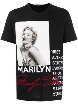Dolce&Gabbana футболка Marylin G8KBAZG7VQW