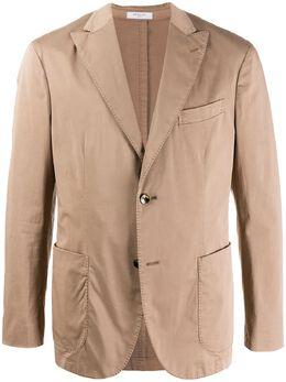 Boglioli пиджак строгого кроя N6302QBNC400