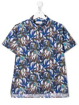 Paolo Pecora Kids рубашка с принтом PP2247