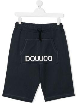 Douuod Kids спортивные шорты с логотипом FC512232