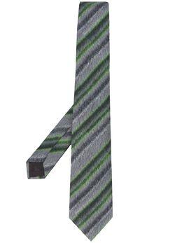 Emporio Armani галстук в полоску 3400750P200