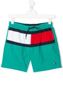 Tommy Hilfiger Junior плавки-шорты в стиле колор-блок UB0UB00176