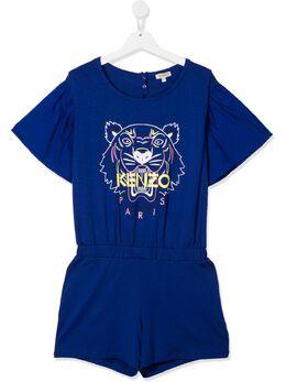 Kenzo Kids комбинезон с логотипом KQ33018