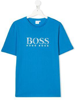 Boss Kids футболка с логотипом J25E63760