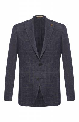 Пиджак из смеси льна и хлопка Sartoria Latorre EF74 Q70361