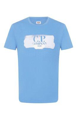 Хлопковая футболка C.P. Company 08CMTS147A-005100W