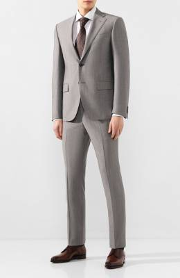 Шерстяной костюм Corneliani 857268-0114136/92 Q1