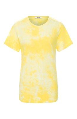 Хлопковая футболка Agolde A7047B