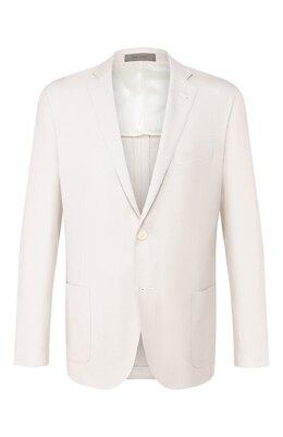 Пиджак из смеси шелка и шерсти Corneliani 85XY72-0118288/90