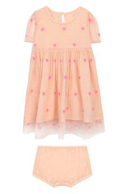 Комплект из платья и шорт Stella McCartney 589694/S0KE0