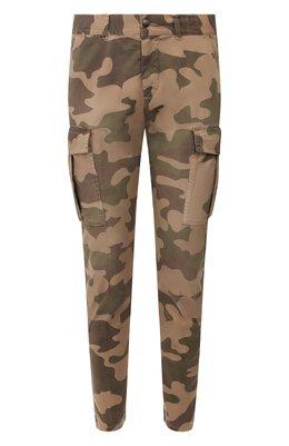Хлопковые брюки-карго Eleventy Platinum A75PANA10 TET0A006