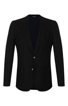 Пиджак из смеси кашемира и шелка Dolce&Gabbana G2KN7T/FU3LU