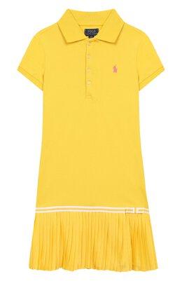 Хлопковое платье Polo Ralph Lauren 311783903