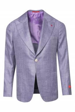 Прямой сиреневый пиджак Isaia 2328189669