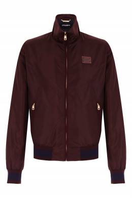 Бомбер бордового цвета Dolce&Gabbana 599189804