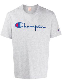 Champion футболка с вышитым логотипом 210972