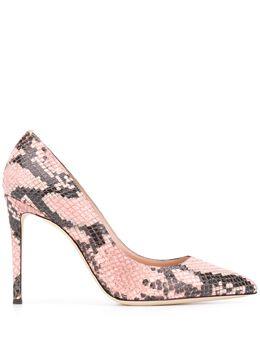 Giuseppe Zanotti Design туфли-лодочки Carolyne со змеиным принтом I960002009
