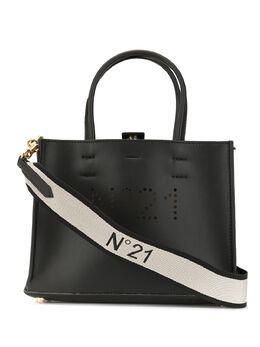 No. 21 сумка-тоут с перфорированным логотипом 20EBM0210EN00