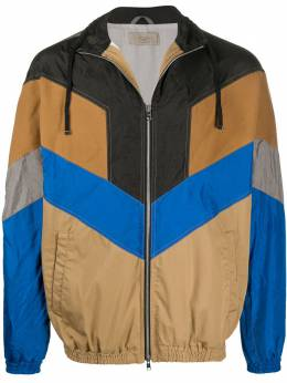 Maison Flaneur куртка в стиле колор-блок 20SMUJB800