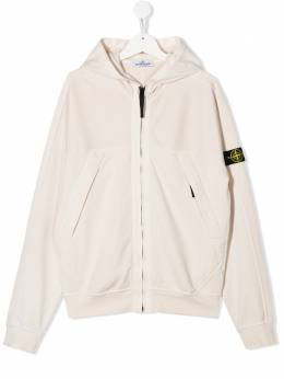 Stone Island Junior TEEN compass badge logo hoodie MO721661440
