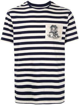 Kent & Curwen футболка с нашивкой K4070ER06039