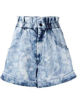 Isabel Marant Etoile шорты Itea с эффектом потертости SH031420P022E