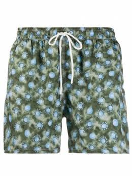 Fedeli плавки-шорты с принтом 3UE00318