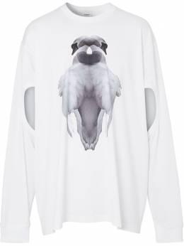 Burberry футболка с принтом 4563792