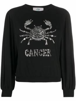 Alberta Ferretti футболка Cancer с длинными рукавами J1202172