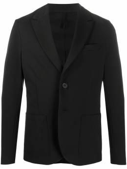 Harris Wharf London однобортный пиджак узкого кроя C8P23PXL