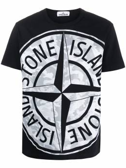 Stone Island футболка с логотипом MO721523391