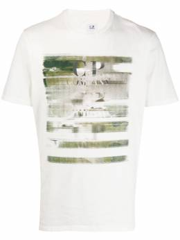 C.P. Company graphic print T-shirt 08CMTS336A005621W