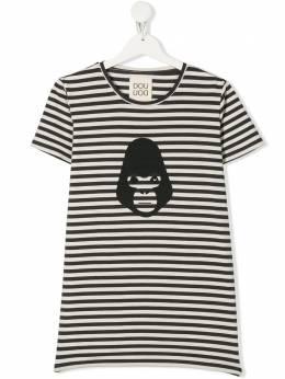 Douuod Kids TEEN striped T-shirt TE591230
