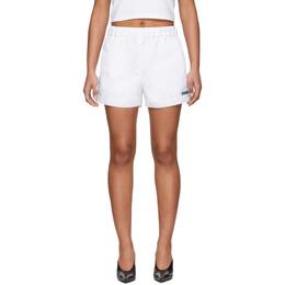Misbhv White The MISBHV Shorts 020W190