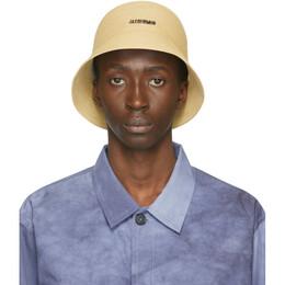 Jacquemus Tan Le Bob Manosque Bucket Hat 205AC04-205 70120