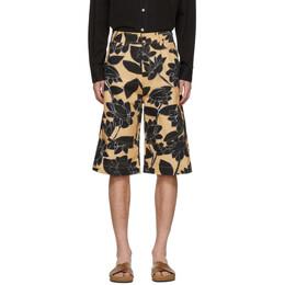 Jacquemus Yellow Le Short Terraio Shorts 205PA08-205 0727F