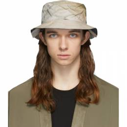 Song For The Mute Khaki and Taupe New Era Edition Car Bucket Hat 201_NEHAT002_WASHCAR