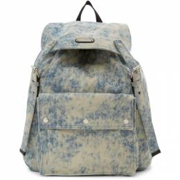 Saint Laurent Blue Denim Noe Backpack 554580HZX2F