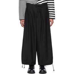 Yohji Yamamoto Black Balloon Trousers HN-P06-002