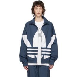 Adidas Originals Blue Big Trefoil Track Jacket FM9894
