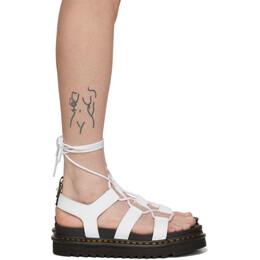 Dr. Martens White Nartilla Sandals R24641100