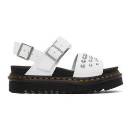 Dr. Martens White Stud Voss Sandals R25454100